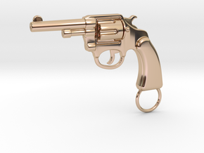 COLT POLICE in 14k Rose Gold Plated Brass