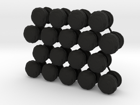Mushroom Cloud x18 in Black Strong & Flexible