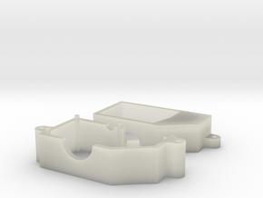 Losi 1/24 Micro Gear Case in Transparent Acrylic