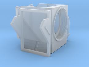 Filter Cube for Nikon TiU in Smooth Fine Detail Plastic