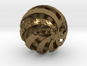 ZWOOKY Style 3411  -  Sphere in Polished Bronze