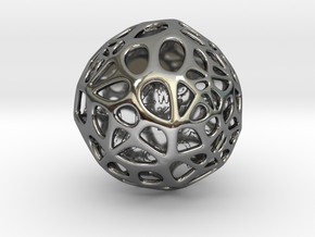 ZWOOKY Style 3408  -  Sphere in Fine Detail Polished Silver
