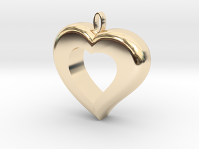 Cuore7 in 14k Gold Plated Brass