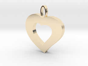 Cuore8 in 14K Yellow Gold