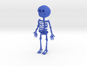 Skelly in Blue Processed Versatile Plastic