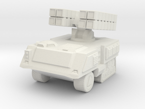 Missile Launcher 6mm in White Strong & Flexible