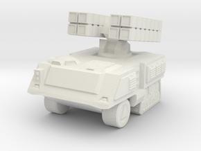 Missile Launcher 6mm in White Natural Versatile Plastic