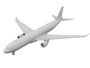 1:400 - A330-300 in Smooth Fine Detail Plastic