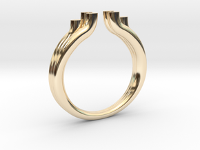 Tres 2 in 14K Yellow Gold