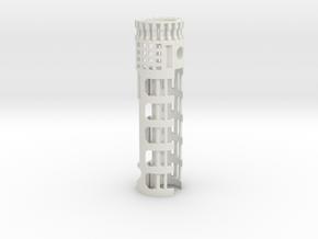PRIZM-20mm-1.10OD in White Natural Versatile Plastic