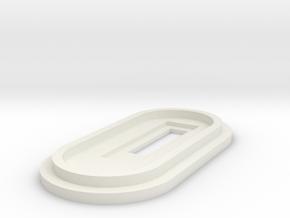 Splendid Mods DNA30 Bottom Cap in White Natural Versatile Plastic