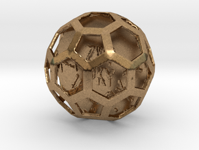 ZWOOKY Style 3422  -  Sphere in Natural Brass