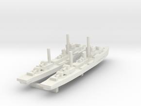 Tachin (Maeklong class Sloop) 1/1800 x2 in White Natural Versatile Plastic