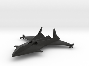 MPV Stealth Jet 01 in Black Natural Versatile Plastic