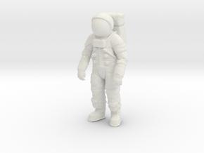 Apollo 11 / Astronaut / Generic Position / 1:24 in White Natural Versatile Plastic