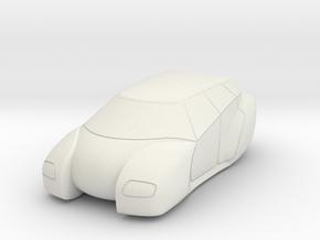 Hover Car 1/107 Scale model 15mm wargaming in White Natural Versatile Plastic