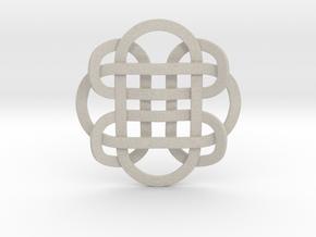 Designer Kolam Pendant in Natural Sandstone