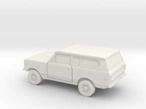 1/87 1978 International Scout  in White Natural Versatile Plastic