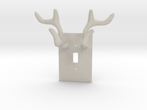 Horn jewelry Hanger  in Natural Sandstone