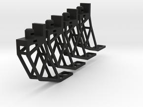 XS Waterstrider Landing gear for Parrot Bebop in Black Natural Versatile Plastic
