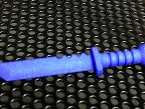 Survival Knife for ModiBot in Blue Strong & Flexible Polished