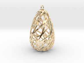 Twist 001 in 14k Gold Plated Brass