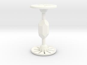Saber Crystal in White Processed Versatile Plastic