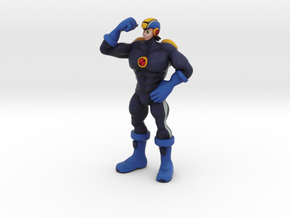 Gachimuchi Megaman in Full Color Sandstone