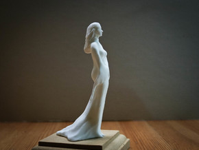 Meditation woman in White Natural Versatile Plastic