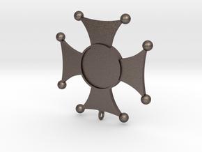 Virtuti Cebulari in Polished Bronzed Silver Steel