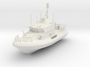 ~1/87 RB-M USCG Response Boat Medium Full Hull ~ H in White Natural Versatile Plastic