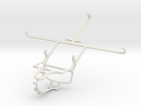 Controller mount for PS4 & Asus Google Nexus 7 (20 in White Natural Versatile Plastic