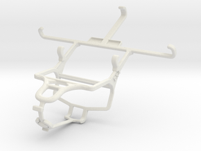 Controller mount for PS4 & Samsung Galaxy S III CD in White Natural Versatile Plastic
