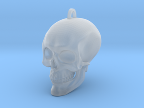 Skull in Smooth Fine Detail Plastic