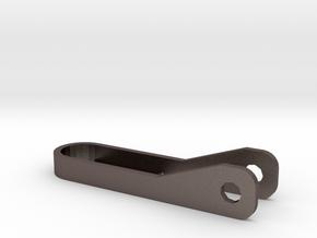 BladeKey Bolt 6 (Regular Length) in Polished Bronzed Silver Steel