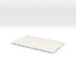 Leidenfrost Effect plate in White Strong & Flexible