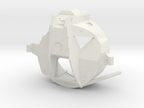07A-Forward Section Structure in White Natural Versatile Plastic