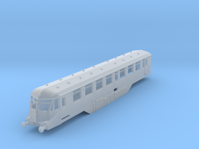 GWR - W35W - Buffet - N - 1:148 in Smooth Fine Detail Plastic