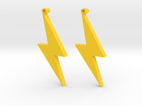 lightning Strike in Yellow Strong & Flexible Polished