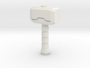 Hammer Of The Gods V2.2 in White Natural Versatile Plastic