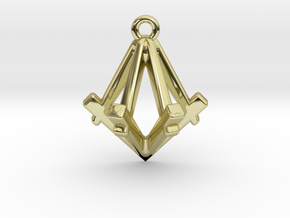 Nomax in 18k Gold Plated Brass