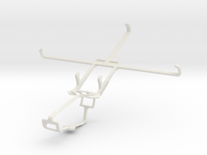 Controller mount for Xbox One & HP Stream 7 in White Natural Versatile Plastic