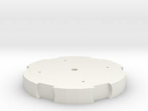 MK2 Rotor Disc in White Natural Versatile Plastic