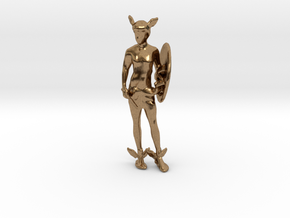 Perseus in Natural Brass