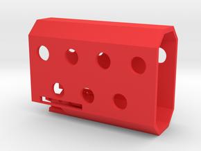 Vik Pistol Shroud in Red Processed Versatile Plastic