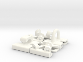Mollie Add-on Combo in White Processed Versatile Plastic