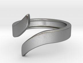Open Design Ring (21mm / 0.82inch inner diameter) in Natural Silver