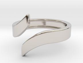 Open Design Ring (26mm / 1.02inch inner diameter) in Platinum