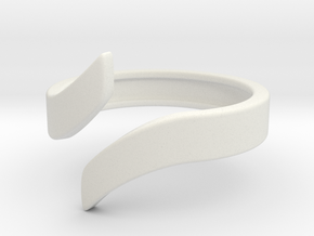 Open Design Ring (29mm / 1.14inch inner diameter) in White Natural Versatile Plastic