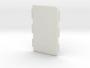 MARK IX -Meccanica- Cover in White Natural Versatile Plastic